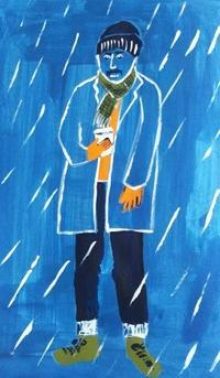 真冬の寒さ - たなかきょおこ-旅する絵描きの絵日記/Kyoko Tanaka Illustrated Diary