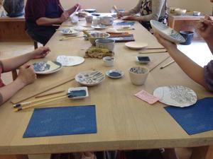 染付講座中級 - たびびとの陶芸日記