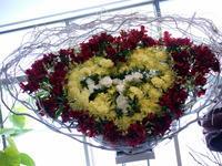 茅原 実里(ちはら みのり)さんのライブにバスケットスタンドフラワー。Zepp札幌にお届け。2017/04/16。 - 札幌 花屋 meLL flowers