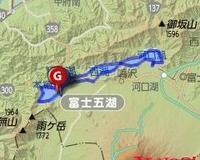 4/15(土) 富士四湖 65km 桜は蕾でした (>< - 山to バイクto Qoo の楽園