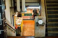 松江市場をモノクロにしてみました。 - 台湾に行かなければ。