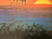 吉田遠志の動物絵本 9 ライオンの家族 「きえたにじ」 - 象を読む人 象を書く人