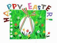 Happy Easter 2017 - K e  i  k  o     A  o  i  イ ラ ス ト 日 記