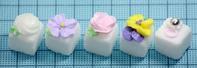 春のお花の角砂糖アイシングいろいろ - SWEETSライフ…青い森の国から