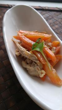 キャロットマーマレードポーク - 料理研究家ブログ行長万里  日本全国 美味しい話