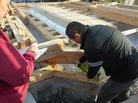 田園を望む4世代の家 建て方 - くまもとの家づくり・空楽