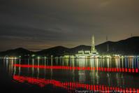 火力発電所 夜景 - シセンのカナタ