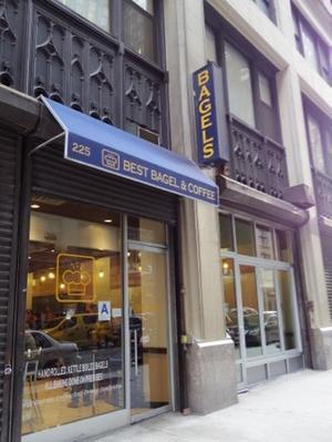 初めてのニューヨーク旅29. ベストベーグルアンドコーヒーにてがっつりベーグルの朝食 - マイ☆ライフスタイル