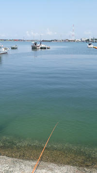 日曜日は三池港へ釣りに行く - ステンドグラスルーチェの日常