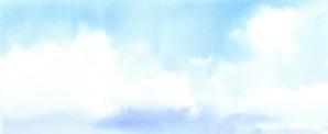 空 水彩画 - はるさき水彩画blog