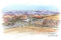 丘の大地の春 - 気まぐれトンボのS・パレット