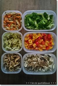 今週の常備菜☆品名だけでレシピが要らないくらい簡単な常備菜と離乳食。 - 素敵な日々ログ+ la vie quotidienne +