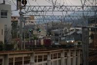 藤田八束の鉄道写真@青森の貨物列車、下北半島の春、釜臥山の夕日・・・学生たちと鉄道、青い森鉄道 - 藤田八束の日記