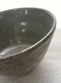 ■白からぼ釉薬に透明かけたら■ - ちょこっと陶芸