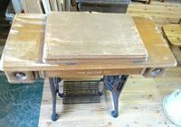 足踏みミシンのリメイク - woodworks 季の木  日々を愉しむ無垢の家具と小物