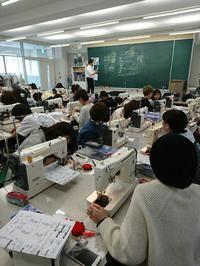 1年生ミシン工学。 - Nagoya Fashion College