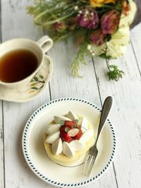 デコロールケーキ(これもマンネリ気味) - 菓野香な暮らし