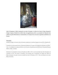 【素顔のマリーアントワネット】 - Plaisir de Recevoir フランス流 しまつで温かい暮らし