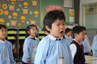 あいさつNo.1(なでしこ) - 慶応幼稚園ブログ【未来の子どもたちへ ~Dream Can Do!Reality Can Do!!~】