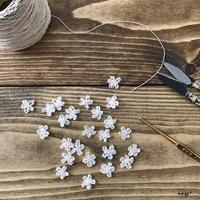 2017.4webshop感謝御礼♪プチプレは久々に編んだ小さなお花のモチーフ - neige+ 手作りのある暮らし