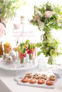 イースターのテーブル 軽食色々♪ - フランス菓子教室 Paysage Calme