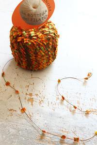 ミラノで買った素敵な飾り糸 - ビーズ・フェルト刺繍作家PieniSieniのブログ