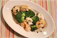 海鮮とブロッコリーのイタリアン風ソテー - おいしい便り