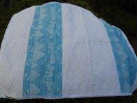 お土産・・・イタリアの織物・・大好きな南部せんべい - 藍ちくちく日記