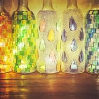モザイクボトル~LEDライト - 雑貨店PiPPi