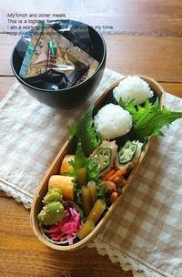 4.18 蕗味噌おにぎり弁当 - YUKA'sレシピ♪