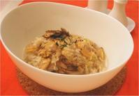 【簡単レシピ】あさりと舞茸のリゾット - 安井レイコ ブログ おいしい物語