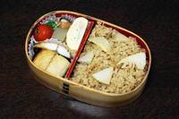 サバの文化干し - 庶民のショボい弁当