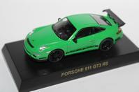 1/64 Kyosho PORSCHE 3 911 GT3 RS - 1/87 SCHUCO & 1/64 KYOSHO ミニカーコレクション byまさーる