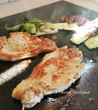 パスクエッタはおうちで火山石BBQ!! - La Tavola Siciliana  ~美味しい&幸せなシチリアの食卓~