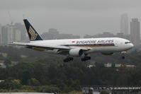 2017シドニー遠征 その28 シドニー1日目 シンガポール航空のB777たち - 南の島の飛行機日記