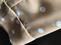 かたやま先生ストレートフリルブラウス製作途中と糸の色について考える。 - キャバリア@(モト)名古屋