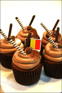チョコレートカップケーキ - Atelier BLANC