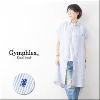 Gymphlex [ジムフレックス] LINEN STRIPE S/S LONG SHRTS [J-1098LNP] LADY'S - refalt   ...   kamp temps