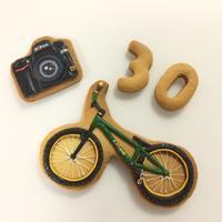 ◆夫の誕生日アイシングクッキー - まんなのお菓子工房