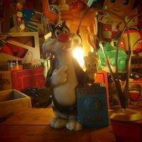 Vintage  Sylvester and Tweety bank - OIL SHOCK ZAKKA