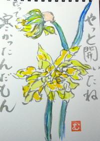 春の嵐 - 里山の機織りばぁば