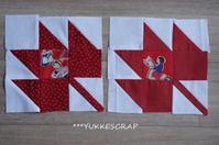今週のパッチワーク ~Maple Leaf, Court House ,Tall Ships~ - YUKKESCRAP