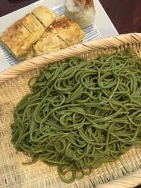 京都土産の茶そば - 来客手帖~ときどき薬膳