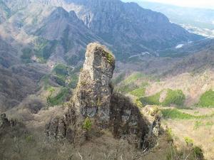 安中市松井田町 妙義山 禁断の星穴新道から登る星穴岳     Mount Hoshiana in Annaka, Gunma  - やっぱり自然が好き