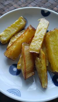 大学芋のおやつ - 料理研究家ブログ行長万里  日本全国 美味しい話