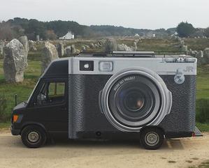 アニエス・ヴァルダと写真家のJRがフランスを駆け巡るプロジェクト! -