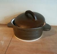土鍋だよ。 - 陶芸教室 なすびの花