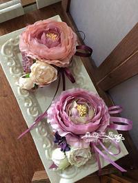 ご卒業・ご入学用コサージュ*アーティフィシャル - 森の工房 Flower Work ナチュラルスローな空間