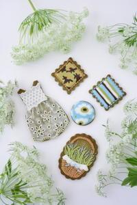シーズナルレッスン 5月 抹茶アイシングクッキーレッスン のお知らせ - Misako's Sweets Blog アイシングクッキー 教室 シュガークラフト教室 フランス菓子教室 お菓子 教室