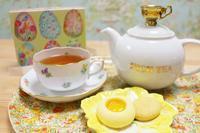 イースター、お茶とお菓子とレインボーサンドイッチ - Best Drop Tea Club